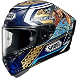 Shoei Casco de carreras X-Spirit 3 Marquez Motegi 3 TC-2 (S)