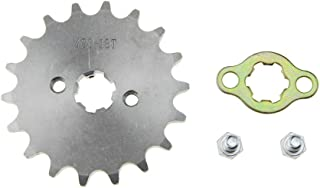 WOOSTAR Front Sprocket 420-18T 17mm for Motorcycle