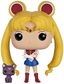 Figura de acción Funko POP Anime: Sailor Moon con Luna