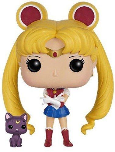 Funko Moon & Luna Figura de Vinilo, colección de Pop, seria Sailor Moon (6350)