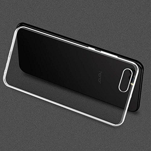 TopACE Hülle für Honor View10, Honor V10 TPU Hülle Schutzhülle Crystal Case Durchsichtig Klar Silikon Transparent für Huawei Honor View 10 (Transparent) - 3
