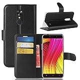 Guran Custodia in Pu Pelle per Blackview A10 Smartphone Avere Portafoglio e Funzione Stent Case Flip...