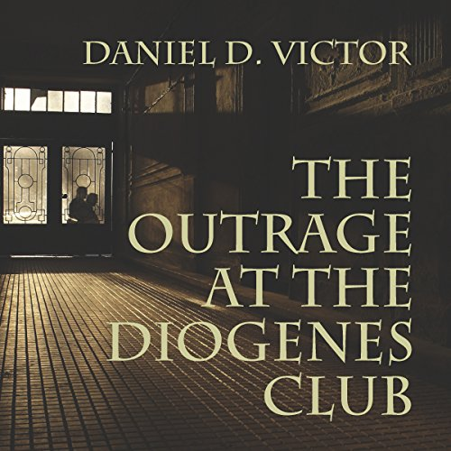 The Outrage at the Diogenes Club audiobook cover art