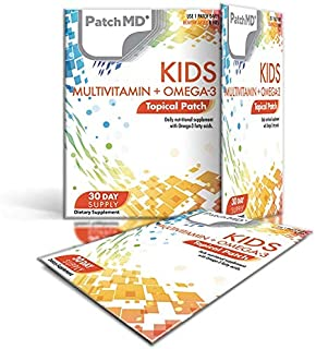 PatchMD Kids Multivitamin + Omega-3™ 30 Daily Topical