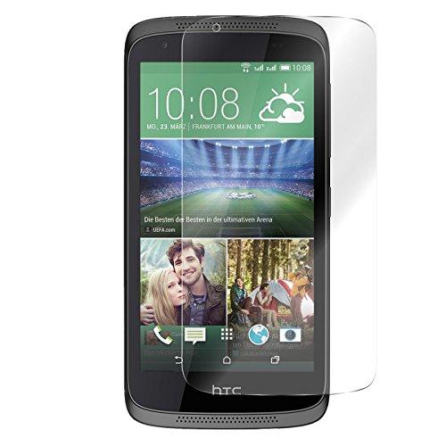 Conie 9H548 9H Panzerfolie Kompatibel mit HTC Desire 626, Panzerglas Glasfolie 9H Anti Öl Anti Fingerprint Schutzfolie für Desire 626 Folie HD Clear