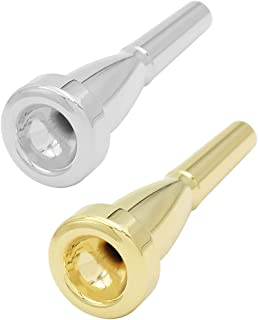 perfk 2Pcs Boquilla De Trompeta Accesorio Para Instrumento Musical 7C Para Pieza De Repuesto