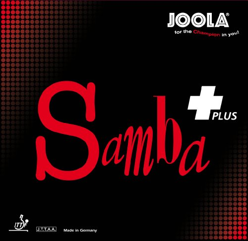 JOOLA Tischtennisbelag Samba Plus, 70046, Schwarz, 2.0-mm