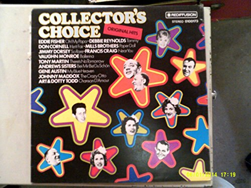 COLLECTOR'S CHOICE THE ORIGINAL HITS vinyl record album LP