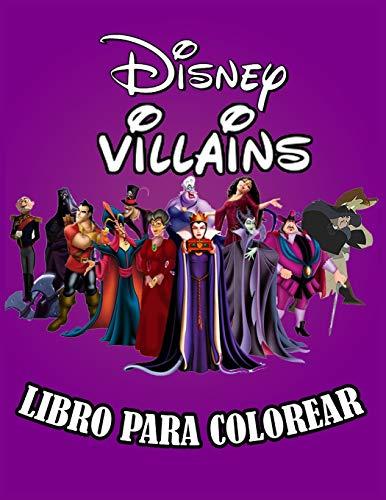 Disney Villains Libro Para Colorear: Geniales páginas para colorear sobre Disney Villanos Libros para niños, niñas y niños: páginas nuevas y más recientes en alta calidad y premium.