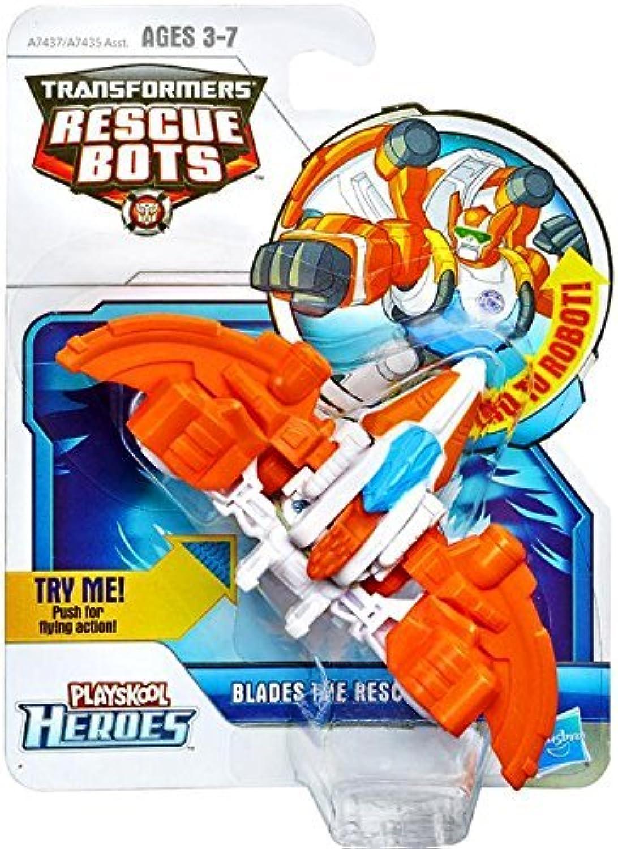 se descuenta Jugarskool Transformers Rescue Rescue Rescue Bots Blades the Rescue Dinobot Figura  para barato