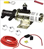 DUAL TANK SWITCHING VALVE SELECTOR | Fuel Gas | 3 Port switch Valve w Clamps Wire, Connector (2 TWO TANKS) MAIN + AUXILIARY | Brand: SMP / Standard Motor Product APSG