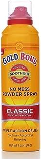 Gold Bond No Mess Powder Spray Classic Scent 7 Oz (3 Pack)