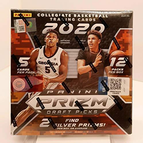 2020/21 Panini Prizm Draft Picks Basketball MEGA EXCLUSIVE box (60 cards/box) 1 Pink Ice Autograph