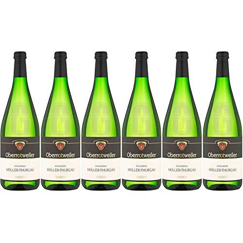 Müller Thurgau lieblich Oberrotweiler Käsleberg Winzerverein Oberrotweil eG 11,2% 1,00l (Paket 6x1l)