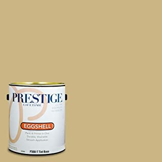 Prestige Paints P300-T-SW6408 Interior Paint and Primer in One, 1-Gallon, Eggshell, Comparable Match of Sherwin Williams Wheat Grass, 1 Gallon,