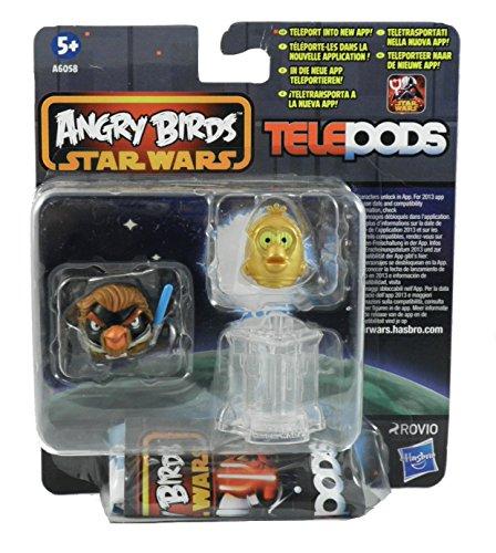 Angry Birds Star Wars – Telepods – Pack de 2 Figurines – Modèle Aléatoire
