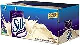 Silk Very Vanilla Soymilk Natural, 8 Fl. Oz (Pack of 18)