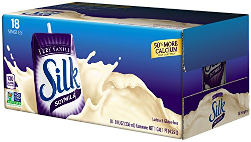 """in budget affordable """"Long-life silk milk made of silk, very vanilla-free, dairy-free, vegan-free, GMO-free, project approved, 8 …"""