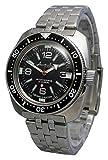Amphibia 200m VOSTOK Automatic Mechanical Watch with Custom Bezel! New! 2416/710640 (Bracelet)