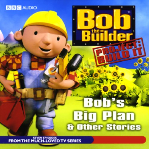 Bob the Builder audiobook cover art