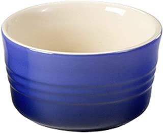 Le Creuset Stoneware 10 Ounce Large Ramekin, Cobalt Blue