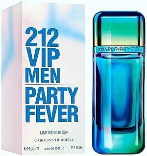 Carolina Herrera 212 VIP Men Party Fever for Men, Eau De Toilette, 100 ml