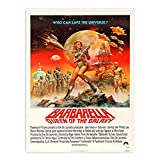 zhuifengshaonian Barbarella Vintage Sci-Fi Film Poster und