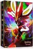 GUBOOM Álbum de Pokemon, Álbum Titular de Tarjetas Pokémon, Tarjetero Pokémon, Protector Cartas Pokemon, fundas para cartas pokemon Hasta 240 Tarjetas Capacidad (Crack)