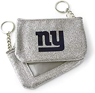 NFL New York Giants Unisex Aminco InternationalNFL Color Sparkle Coin and ID Purse, Team Color, NFL-WA-991-23-BL