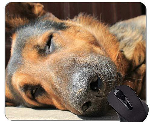 Mauspads - Schäferhund-Hundebrille-Militärarbeiten, Schäferhund-Mausunterlagen