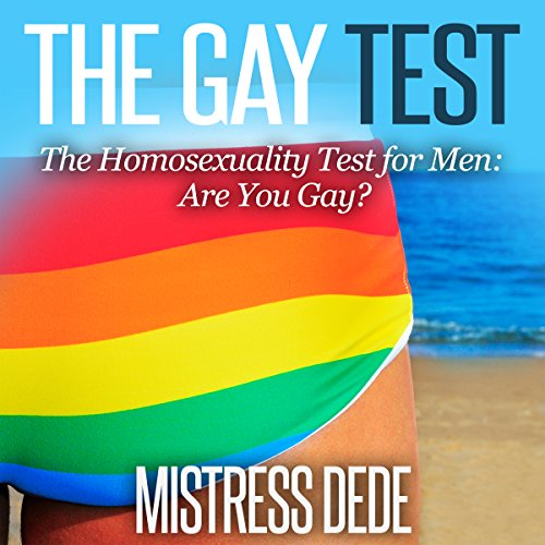 The Gay Test audiobook cover art