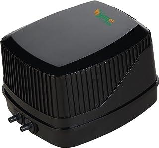 Hygger Quiet High Output 10W Aquarium Air Pump, Oxygen Pump Air Aerator Pump for Fish Tank 30-600 Gallon, 2 Air Outlets (4mm), 250GPH, 100-120V, 0.03MPa