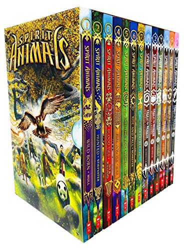 Compare Textbook Prices for Spirit Animals 13 Books Box Set Series 1 & 2 Collection Spirit Animals Books 1 - 7 & Fall of the Beasts Books 1 - 6  ISBN 9780702302190 by Sean Williams Brandon Mull, Maggie Stiefvater, Garth Nix,Christina Diaz Gonzalez Tui T. Sutherland, Eliot Schrefer, Marie Lu,Jonathan Auxier Sarwat Chadda, Sarah Prineas, Varian Johnson,Spirit Animals: Book 1: Wild Born By Brandon Mull,978-0545522434, 0545522439, 9780545522434,Blood Ties By Garth Nix , Sean Williams,978-0545522458, 0545522455, 9780545522458,Hunted By Maggie Stiefvater,978-0545522441, 0545522447, 9780545522441,Fire and Ice By Shannon Hale,978-0545522465, 0545522463, 9780545522465,Rise and Fall By Eliot Schrefer,978-0545522489, 054552248X, 9780545522489