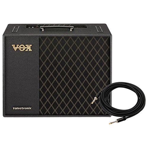 Buy Discount VOX VT100X Digital Modeling Guitar Amplifier w/American Stage 20' Instrument Ca