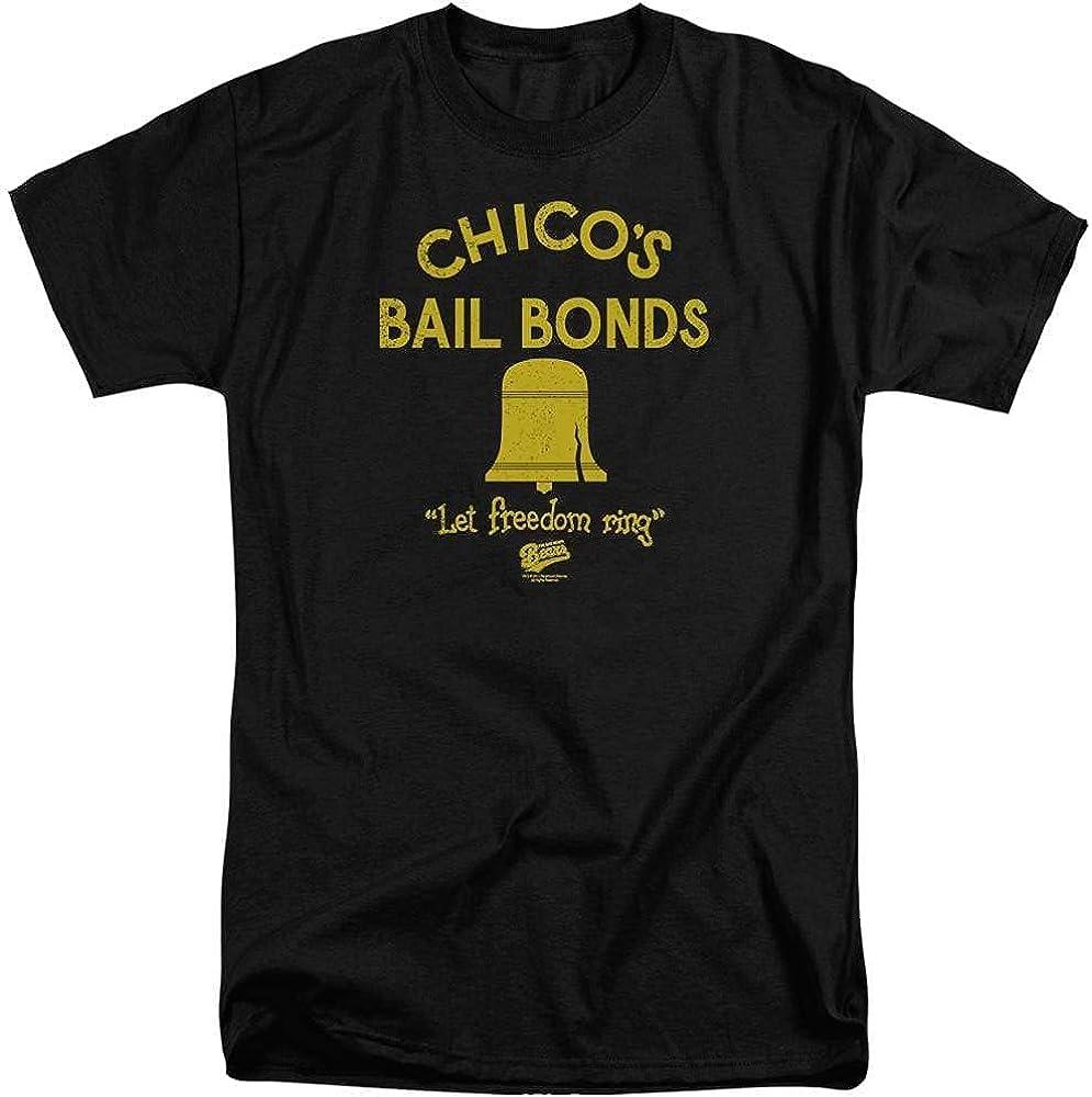 Bad News Bears Chico's Bail Bonds Adult Tall Fit T-Shirt