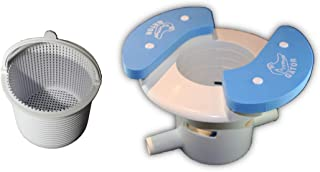 OAI Gator AutoSkim with Basket - Automatic Pool Cleaner, Skimmer & Clarifier - Suction Skimmer for Pools