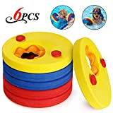 KOROSTRO Manguitos de natación para niños, Discos Flotantes Flotador Bebe Piscina Discos Flotantes Hechos de Espuma, 6 Piezas