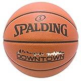 SPALDING(スポルディング) バスケットボール 7号 屋内用/屋外用 合成皮革 ダウンタウン 76-499J 76-499J