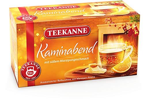 TEEKANNE Rooibostee Kaminabend, Beutel kuvertiert, 20 x 2 g (20 Stück), Sie erhalten 1 Packung á 20 Stück