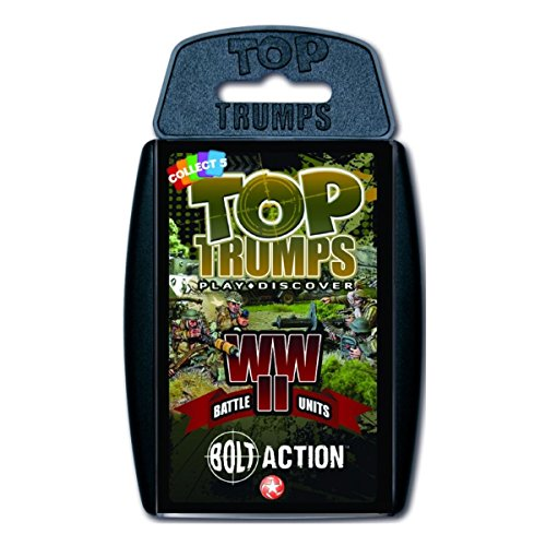 Bolt Action Top Trumps Card Game