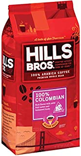 Hills Bros Coffee Hills Bros. Whole Bean Colombian Roast Coffee, 24 Ounce