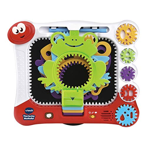 VTech 80-169004 DigiArt - Tierische Maltafel Colouring Toy, Electronic Painting