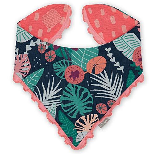 Sigikid Baby-Mädchen Wendehalstuch aus Bio-Baumwolle für Kinder Halstuch zum Wenden, Pink/Jungle, OneSize
