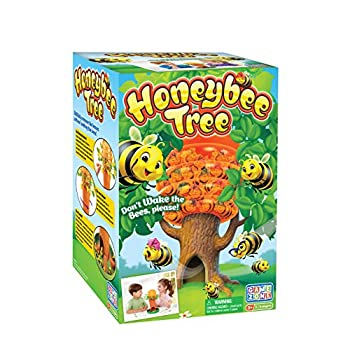 Game Zone Honey Bee Tree Game – Please Don't Wake the Bees – 2 to 4 Players Ages 3 and Up