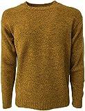 HAWICO Pullover Herren Rundhalsausschnitt Shetland Mod Burnside 100% Wolle Shetland...