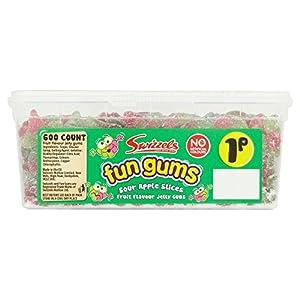 swizzels fun gum sour apple slices - 1p x 600 Swizzels Fun Gum Sour Apple Slices – 1p x 600 51L0TEZalLL