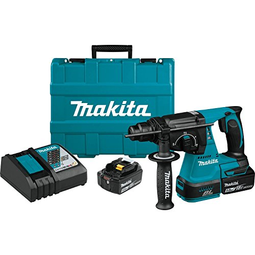 Makita XRH01T 18V LXT Lithium-Ion Brushless Cordless 1' Rotary Hammer Kit (5.0Ah)