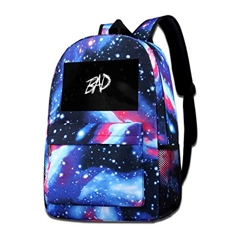 Bad Black Galaxy Backpack Design Fashion Casual Daypack,Campus Bag,Laptop Backpacks