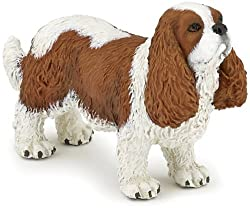 Papo Cavalier King Charles Spaniel Toy Figure by Papo [並行輸入品][Papo]