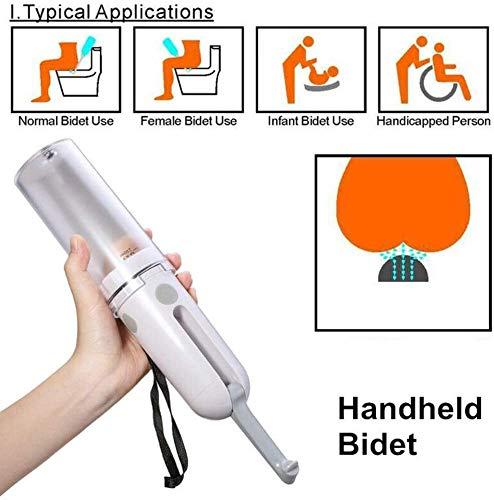 Fantastic Prices! XRYM Travel Bidet Bottle, Portable Bidet Sprayer, Handheld Bidet with 180° Adjust...